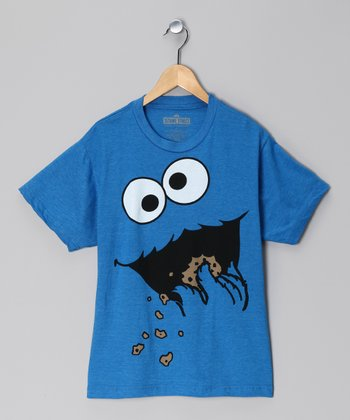 Blue Cookie Monster Tee - Kids