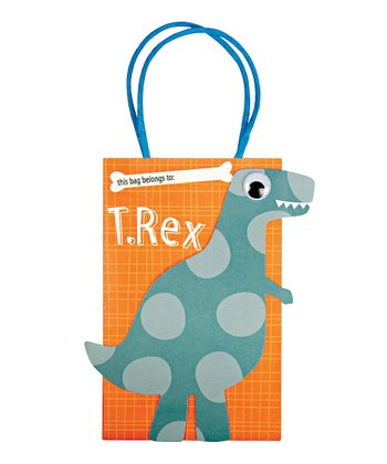 Dinosaur Party Bag - Set of Eight