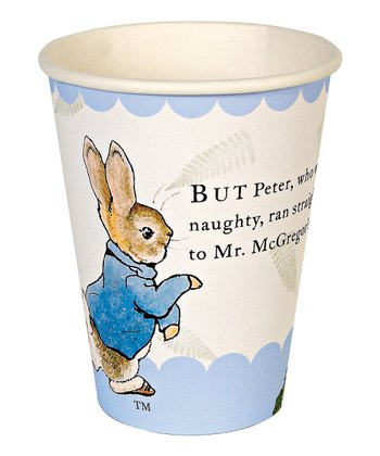 Peter Rabbit Paper Cup - Set of 24
