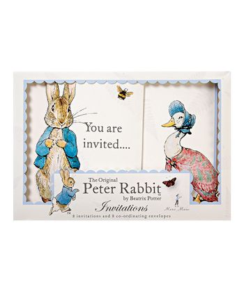 Peter Rabbit Invitation Set