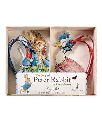 Peter Rabbit Gift Tag - Set of 10