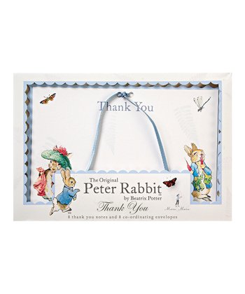 Peter Rabbit Thank You Card Set