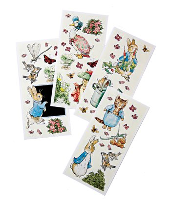 Peter Rabbit Wall Sticker Set