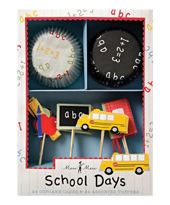 School Days Cupcake Kit