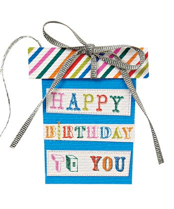'Happy Birthday to You' Gift Tag - Set of Six