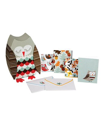 Meri Meri Owl Stationery Kit