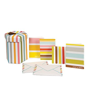 Stripe Stationery Set