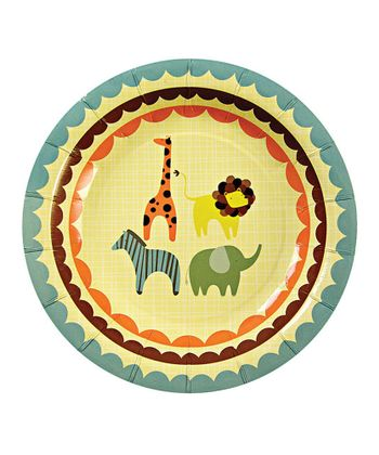 Animal Parade Salad Plate - Set of 24