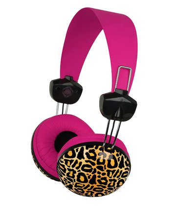 Leopard Kensington Headphones