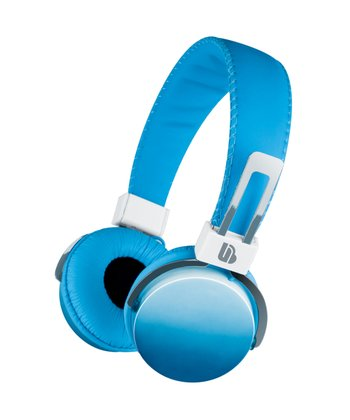 Blue Ombré Headphones