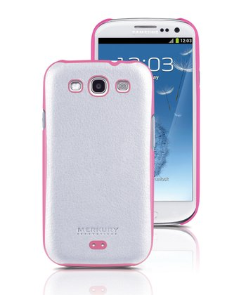 White Snap Case for Samsung Galaxy S III