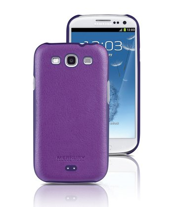 Purple Snap Case for Samsung Galaxy S III