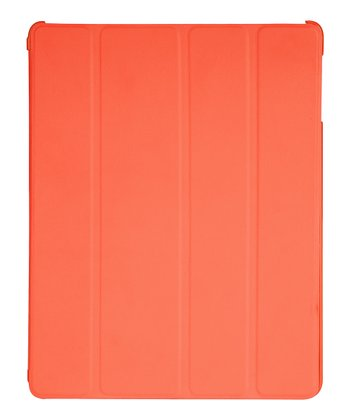 Orange Tangerine Tango Folio Case for iPad 2/3