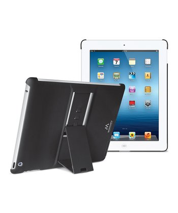 Black Kickstand Case for iPad 3