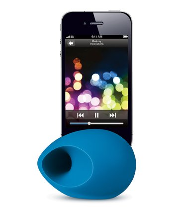 Blue MusicStream Amplifier for iPhone
