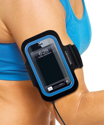 Blue Armband for iPod touch 5 & iPhone 4/4S/5