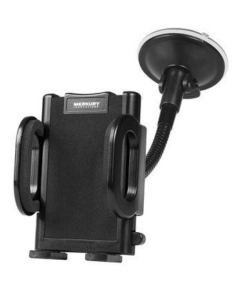 Black Smartphone Windshield Mount
