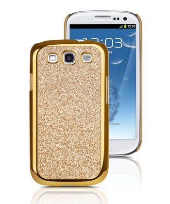 Chrome & Gold Case for Samsung Galaxy S III