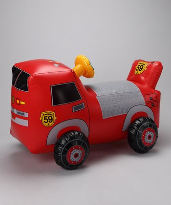 Red Hopping Fire Engine