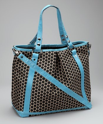 Sky Blue Lyndsey Diaper Bag