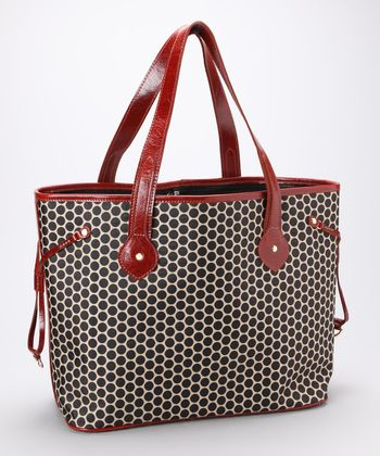 Reddish Emma Diaper Bag