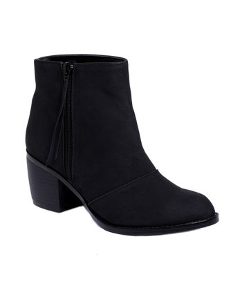 Black Macyn Ankle Boot