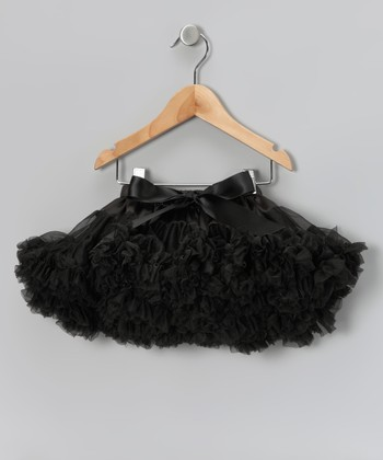 Black Rockstar Pettiskirt - Toddler & Girls