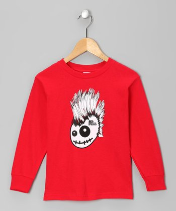 Red Skully Hawk Tee - Infant, Toddler & Boys