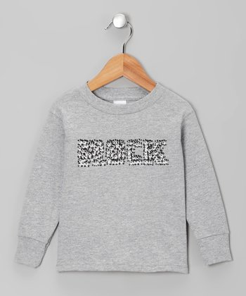 Heather Gray 'Rock' Tee - Infant, Toddler & Boys