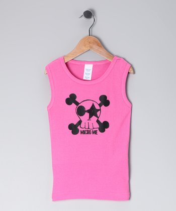 Razberry Kiss Skull Tank - Infant, Toddler & Girls