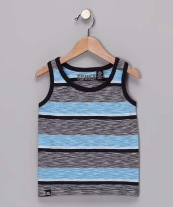 Blue Cable Tank - Toddler