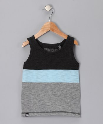 Black & Heather Tank - Toddler & Boys