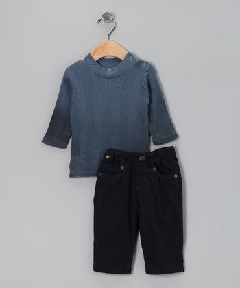 Blue Top & Pants - Infant & Toddler