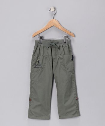 Green Pants - Toddler & Boys