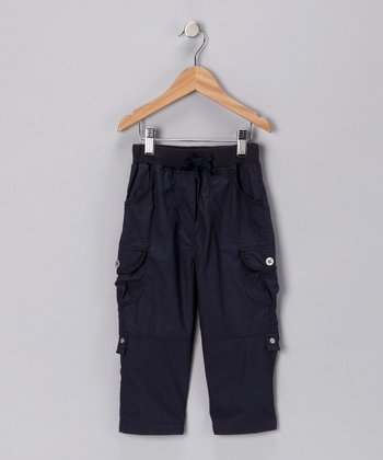 Blue Cargo Pants - Toddler & Boys