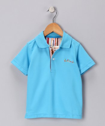 Teal Polo - Infant & Boys