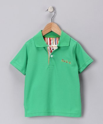 Green Polo - Infant & Boys