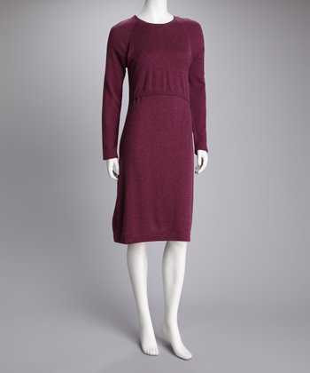 Amarath Wool Maternity & Nursing Dress