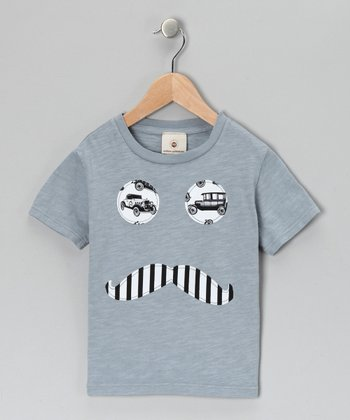 Gray La Voiture Tee - Infant, Toddler & Boys