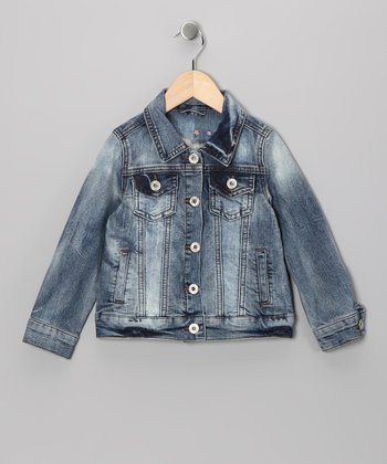 Distressed Denim Jacket - Toddler & Girls