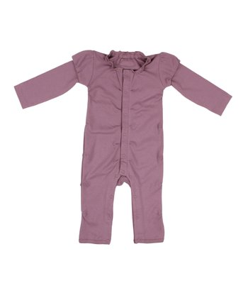 Lilac Ruffle Playsuit - Infant