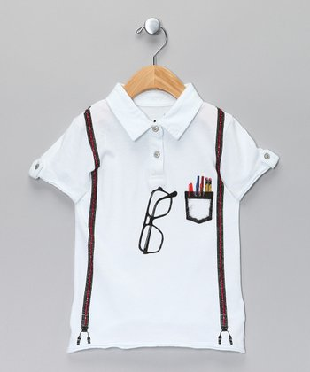 Boy Genius Polo - Toddler & Boys