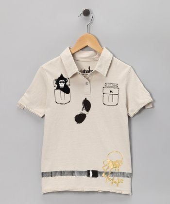 Off-White Zoo Keeper Polo - Infant & Kids