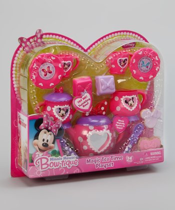 Minnie Mouse Bow-tique Twinkle Bows Magic Tea Time Play Set