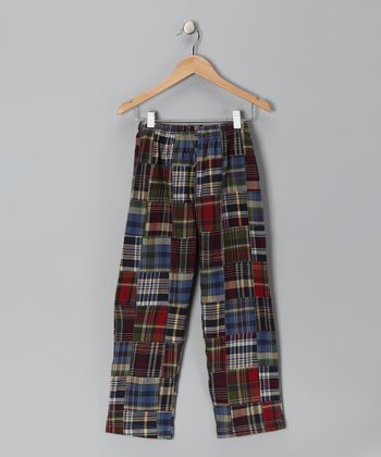 Olive Patchwork Pants - Infant, Toddler & Boys