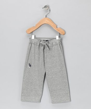 Gray Pocket Pants - Toddler