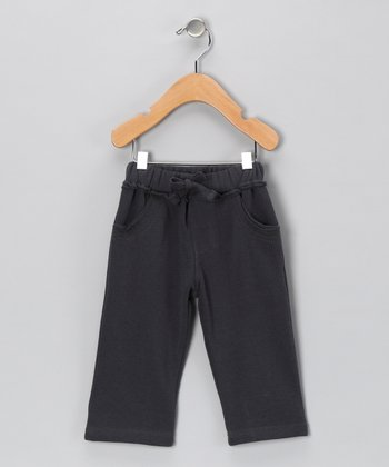 Charcoal Stitch Pants - Toddler & Boys