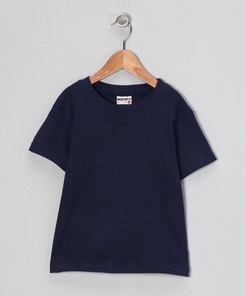 Navy Tee - Infant & Boys