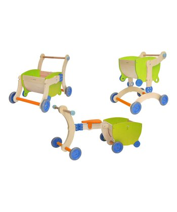 Green & Orange Convertible Grow-Up Toy