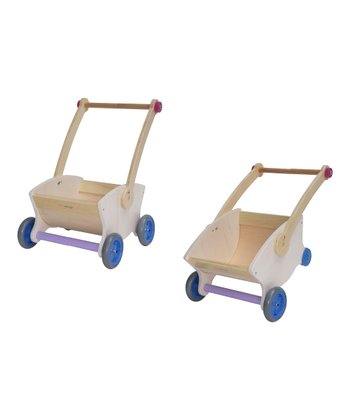 White & Purple Convertible Lift-Up Toy